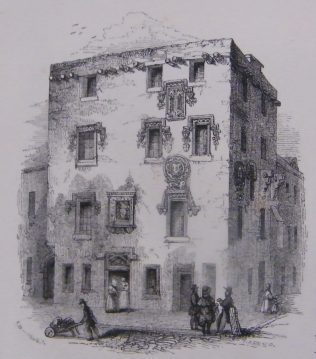 Lynch's Castle, Galway. | (Hall, 1843, 454)