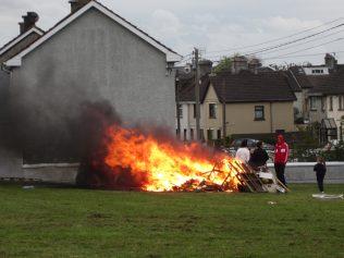 May Eve bonfire, Limerick city | Eorann Kavanagh