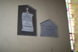 Plaques for Fr Patrick Sheridan and his nephew Fr John McGreal   D Joyce, Author, Personal Photo
