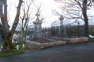 Martin Carey's Grave (left) on the grounds of St. Patrick's Church, Newport. | D Joyce, Author, Personal Photo
