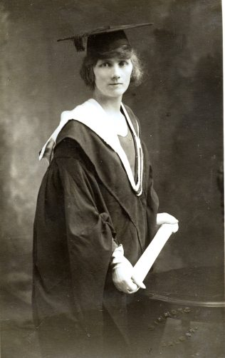 Girls' School Principal, Mrs. Elly Moran, Clare Dixon's mother. | Courtesy of Clare Dixon.