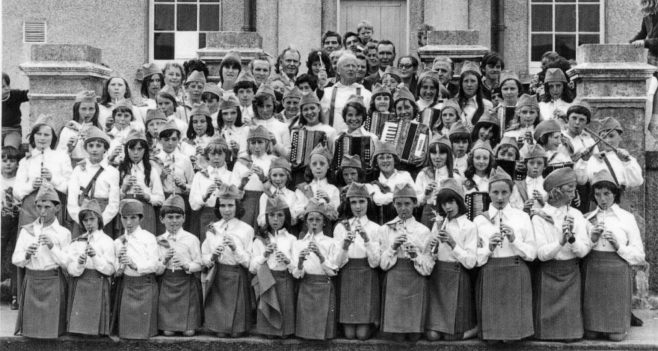 Claddagh NS Band, 1974. | Courtest of Claddagh NS.