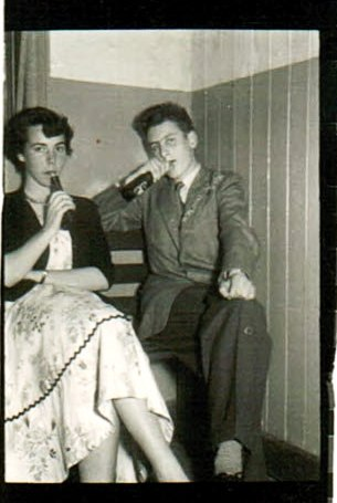 A Typical Night in the Hangar, Salthill, 1953