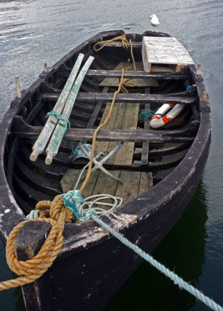 Oyster Fishing Boat