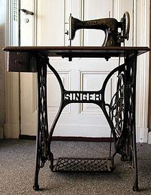 Singer Sewing machine | wikipedia