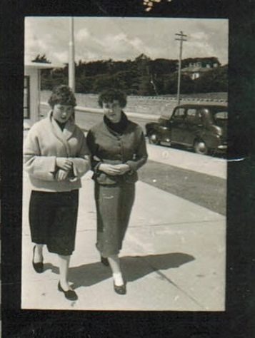 Walking the Prom, Salthill, 1950s