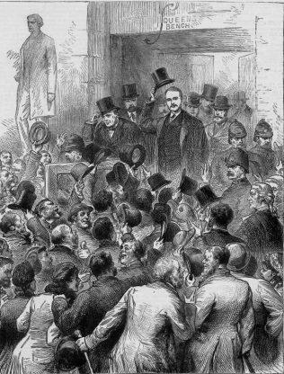 Irish Land League Trial in Dublin | www.mayolibrary.ie