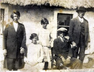 5.The authors paternal grandmother (died 1946) Ellen Casey, second from left, pictured in 1919 along with other family members in Mount Stuart near Cappoquin in Co. Waterford.  The author's great-grandfather John Casey is on the right | Gerry O'Mahony