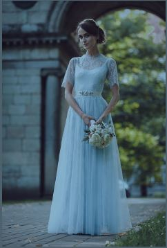 Example of a Blue Dress