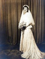 An Example of an Old Wedding Dress