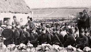 Eviction of James Walsh & Family, Elmhall. Belcarra 1886 | Wynne Family Private  Collection