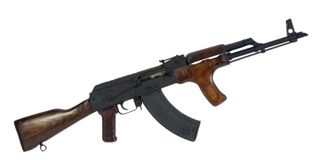 Object No. 100 Decomissioned AK47, 2005 | National Museum of Ireland - Decorative Arts and History
