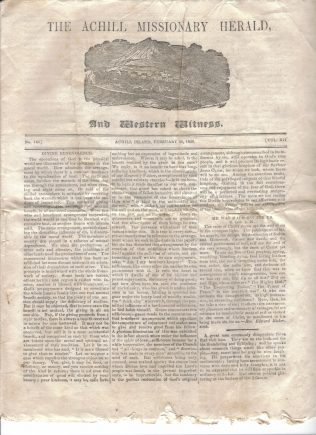 Achill Missionary Herald: Published and Printed in Dugort