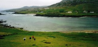 View of Cloughmore from Achill Beg