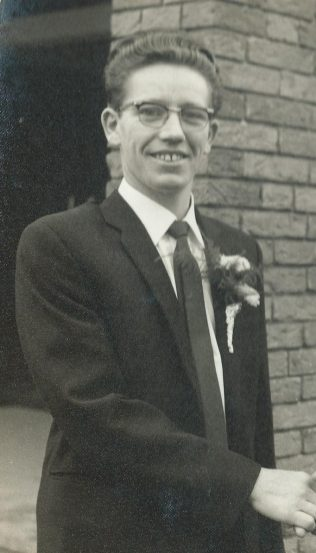 My grandad's name is William Browne. He lives in Derrygorman. He is 75 years old.