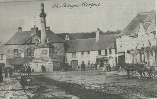 An old photo of the Octagon, Westport.