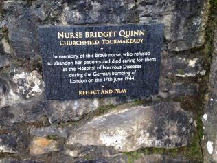 Plaque in Mayo Peacel Park in Castlebar | Author Personal Collection