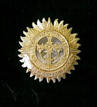 Badge with Cross of Cong | Michael MacEvilly