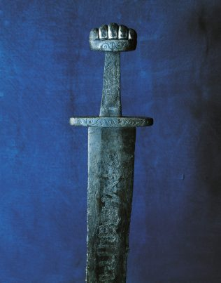 Object No. 36 Ballinderry sword, mid-ninth century | National Museum of Ireland - Archaeology