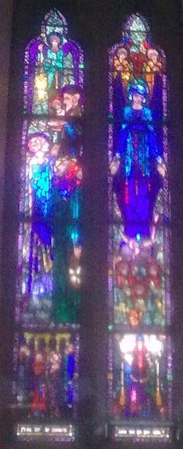 Stained Glass Window, Ballinrobe | Author's Personal Photo