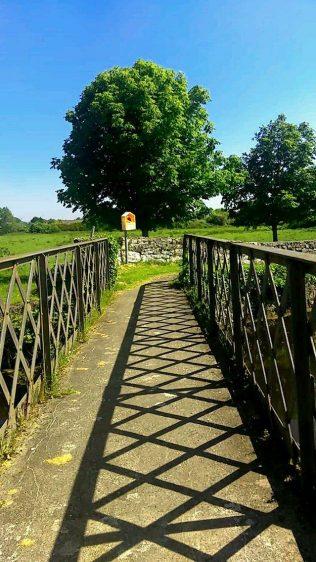 Bridge on Bower Walk, Ballinrobe.   Therese Beckett Crowe Collection