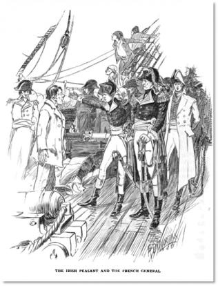 , Matthew Dominick Loughney meets General Humbert |