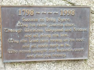 Billy Byrne Memorial at Askanagap   Askanagap Community Development AssociationGroup