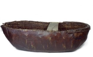 Object No. 93 Boyne coracle, 1928 | National Museum of Ireland - Country Life
