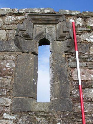 Single light window at Burrishoole friary
