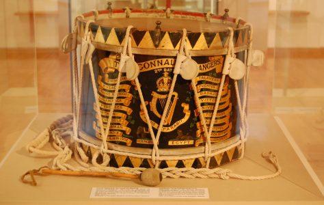 Connaught Rangers Ceremonial Drum