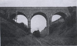 Over pass on the Claremorrs to Ballinrobe railway | T. G. O Donoghue