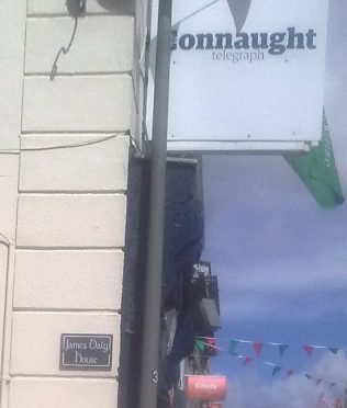 James Daly House plus Connacht Telegraph office. | Author's Personal Photo