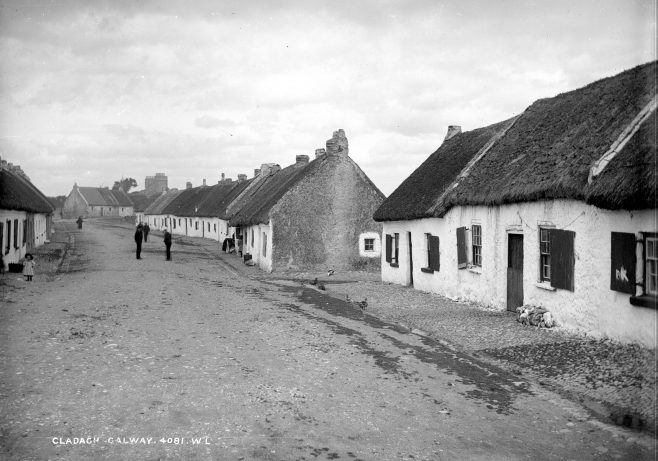 The Heart of the Claddagh, c. 1900. | Courtesy of the National Library of Ireland.