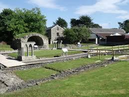 Cloister Rushen Abbey, Isle of Man.   commons.wikimedia.org