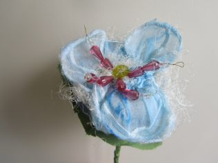 Flower made by James Molloy for the exhibition in the National Museum of Ireland - Country Life