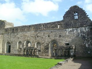 Cloisters in Cong Abbey | Author Personal Collection
