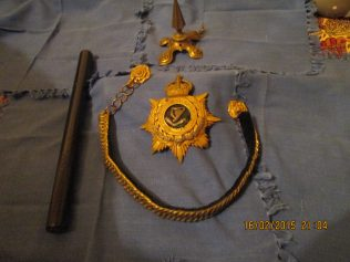 Connaught Rangers Insigna and Baton | Billy Lyons