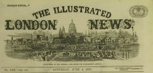 Masthead of the Illustrated London News. | Illustrated London News, 4 June, 1870.