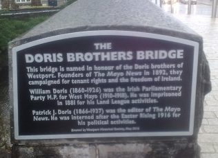 Doris Bridge Westport. | Author's Personal Photo