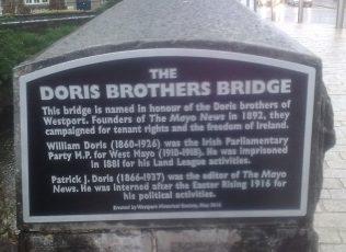 Doris Bridge Westport. | Author's Personal Photo
