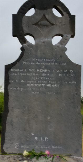 Grave of Dr. Henry | Ann Cresham Collection