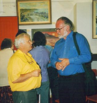 Dr Paddy Lineen and John F. Deane