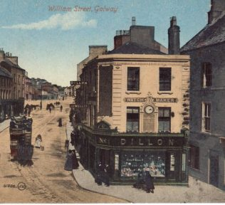 Dillon's, William's St, showing