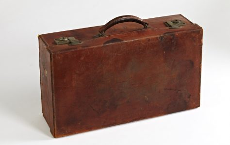 Little Leather Suitcase