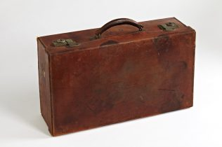 Object No. 95. Emigrant's suitcase, 1950s | National Museum of Ireland - Country Life
