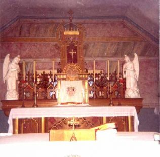 The Altar at Errew Monastery
