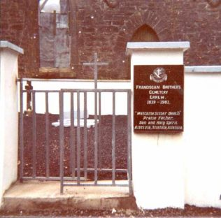 Cemetery for the Franciscan Brothers at Errew Monastery | www.castlebar.ie