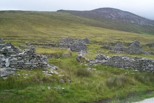 Bothy Houses in The Deserted Village | Author Personal Collection