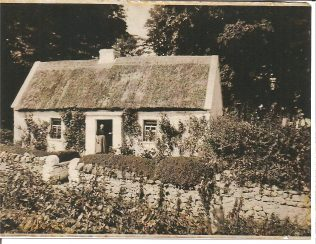Fred and Ellen Gibbons home in Parke, Turlough 1900-1964