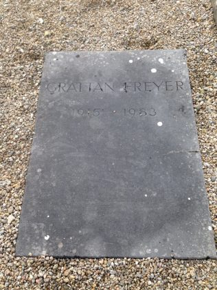 Grattan Freyer''s grave | D. Joyce personal collection